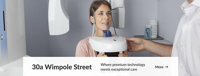 Сайт стоматологической клиники в Лондоне