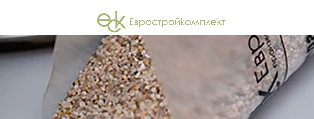 Сайт визитка Евростройкомплект