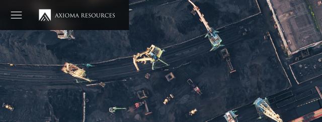 Сайт-визитка угольной компании