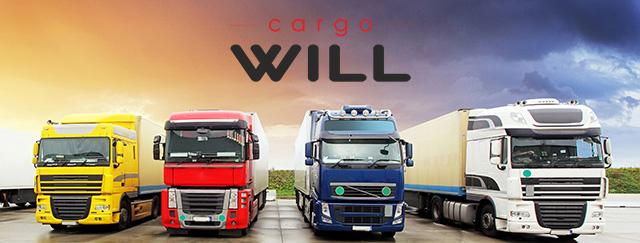 Лэндинг для транспортной компании CargoWill